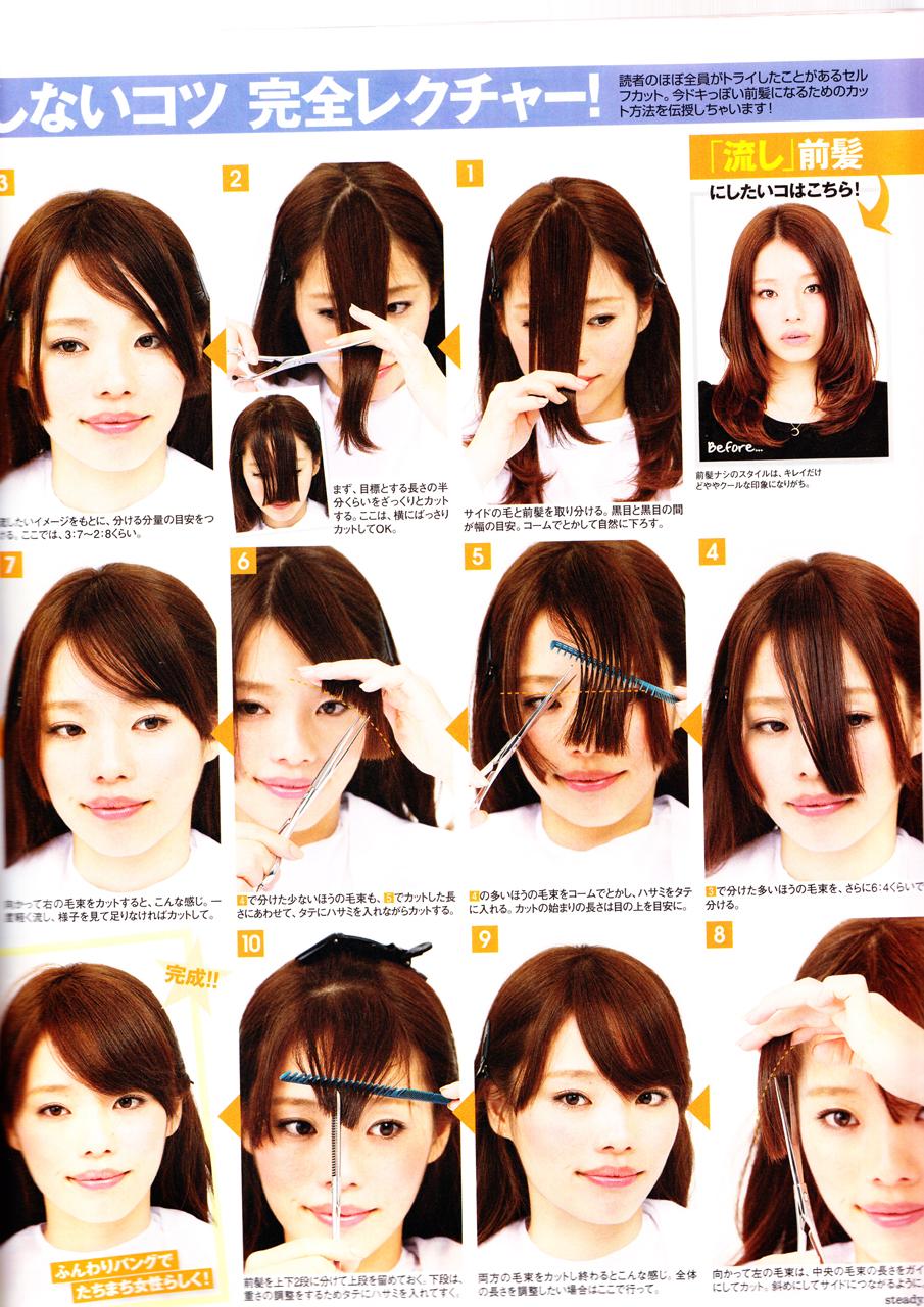 Как подстричь челку самостоятельно: косую, прямую - ВолосоМагия